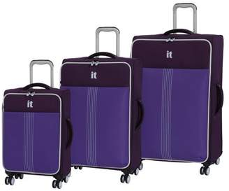 it luggage Filament 3pc Softside Luggage Set
