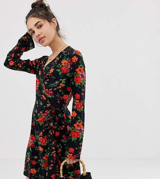 Pimkie Wrap Front Floral Dress