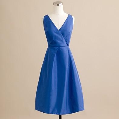 J.Crew Ruthie dress in silk taffeta