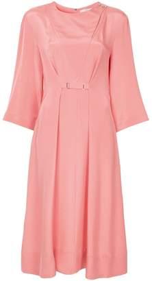 Tibi cropped sleeves dress