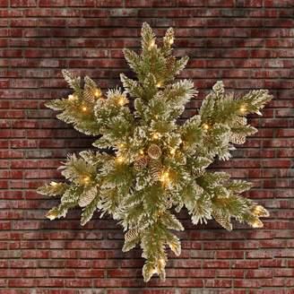 Peak & Pine Loon Peak Pine Snowflake with 50 LED Lights