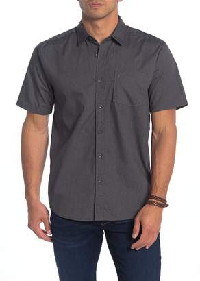 Volcom Everett Solid Modern Fit Woven Shirt