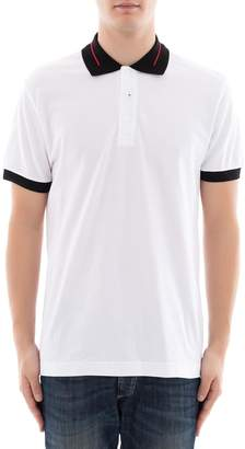 Christian Dior White Cotton Polo