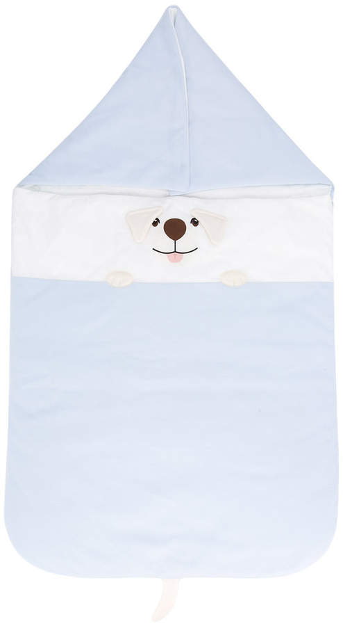 dog print sleep bag