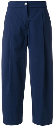 Cavallini Erika loose fit cropped trousers