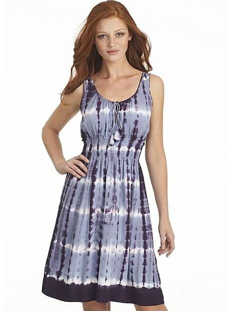 Lucky Brand Jeans Tie Dye Sleeveless Dress