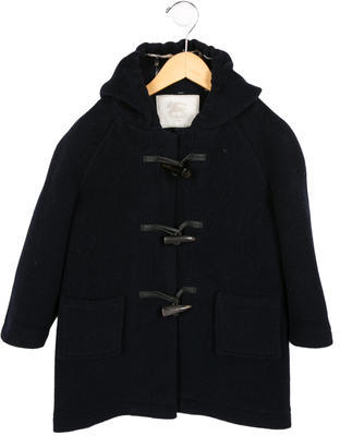 Burberry Boys' Wool Toggle Coat $175 thestylecure.com