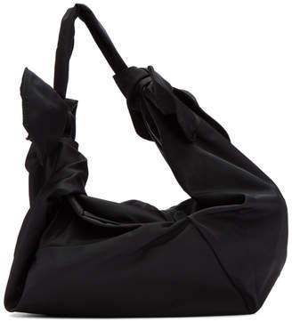 Simone Rocha Black Little Double Bow Bag