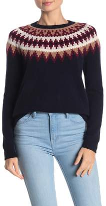 Sofia Cashmere Fair Isle Cashmere Sweater