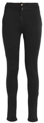 Balmain Cotton-Blend Skinny Pants