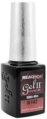 GEL II Reaction REMIX Color Change Nail Mood Polish Soak UV Pink Hibis-Kiss R142 by Gel II