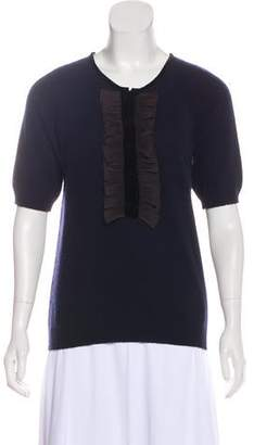 Marc by Marc Jacobs Cashmere Ruffled Sweater