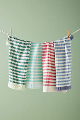 Anthropologie Cabana Striped Dish Towels, Set of 4