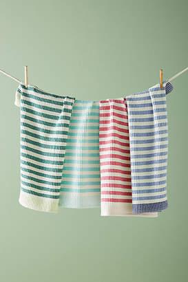 Anthropologie Cabana Striped Dish Towels, Set of 4