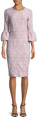 Betsy & Adam Jacquard Shift Dress