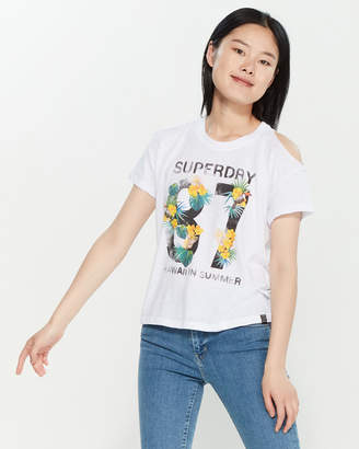 Superdry Utopia Cold Shoulder Tee