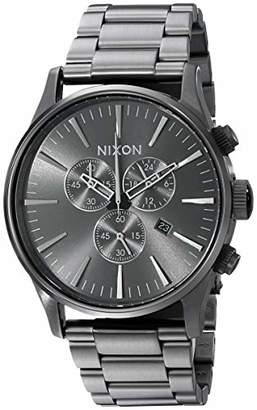 Nixon Sentry Chrono A395 - All - 109M Water Resistant Men's Analog Classic Watch (42mm Watch Face