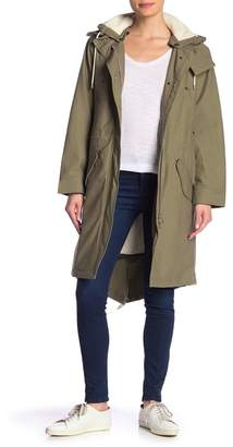 Rag & Bone Penelope Faux Fur Lined Hooded Parka