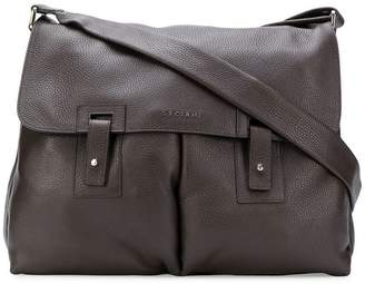Orciani wide messenger bag