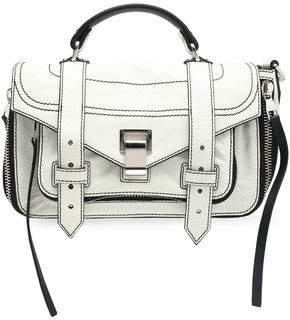 Proenza Schouler Ps1 Cracked-leather Shoulder Bag
