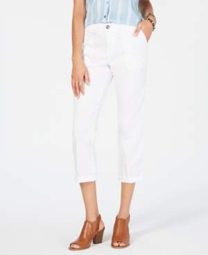 Style&Co. Style & Co Utility-Pocket Capri Pants, Created for Macy's