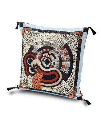 "Missoni Home Oroscopo Ricamato Pillow, 16""Sq."