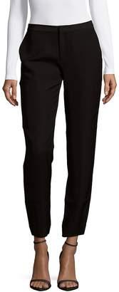 Leo & Sage Women's Solid Slim-Fit Pants