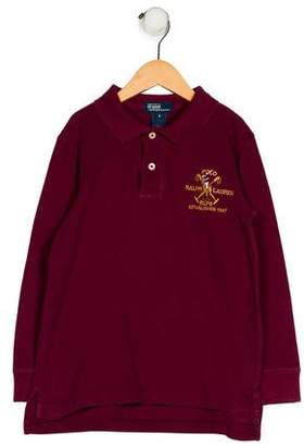 Polo Ralph Lauren Boys' Long Sleeve Polo Shirt