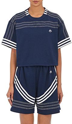 adidas Originals by Alexander Wang Women's Jersey Crop T-Shirt $150 thestylecure.com