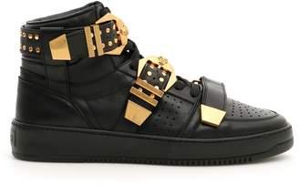 Versace Tribute Hi-top Sneakers