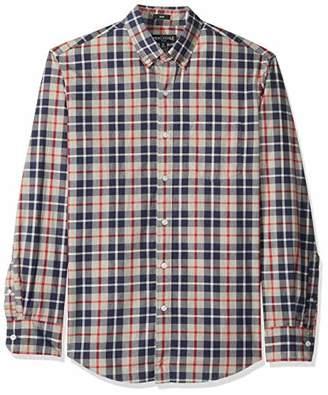 J.Crew Mercantile Men's Slim-Fit Long-Sleeve Plaid Shirt
