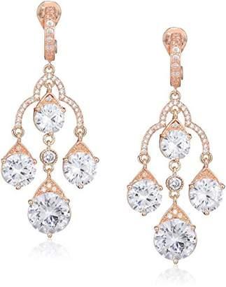 Anne Klein Women's Chandelier Clip Drop Earrings
