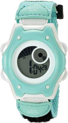 Hudson American Design Machine Jr. Kids' ADSG 5003 MNT Digital Display Japanese Quartz Green Watch