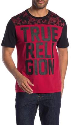 True Religion Crew Neck Printed Tee