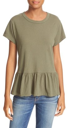 Women's The Great. The Ruffle Tee $135 thestylecure.com