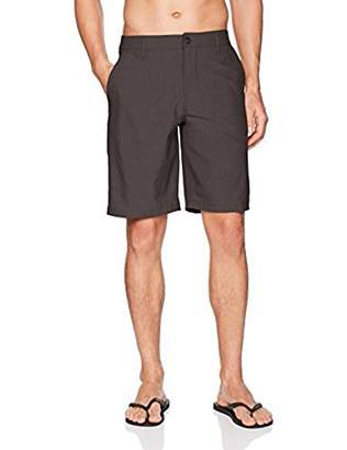"Rip Curl Mirage Phase 21"" Boardwalk Hybrid Shorts Black"
