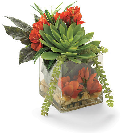 Summer Silk Blend Floral Arrangement