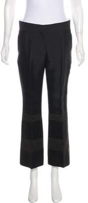 Celine Mid-Rise Wide-Leg Pants