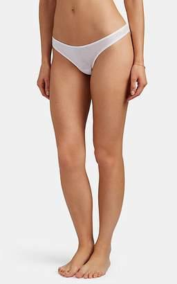 Skin Women's Organic Pima Cotton Thong - White