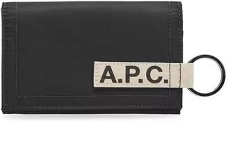 A.P.C. Pozzo Nylon Tape Logo Wallet