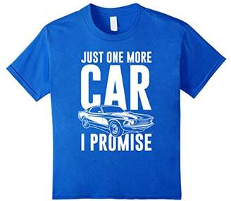 28928bf66 at Amazon.com · Just One More Car I Promise T-Shirt | Car Guy Shirt