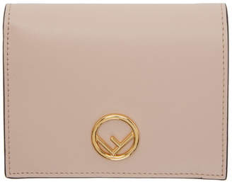 Fendi Pink Small F is Wallet