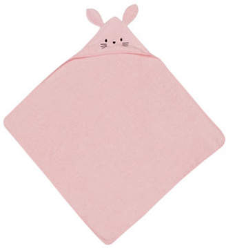 Petit Lem Bunny Hooded Cotton Towel