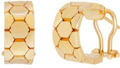 Milani Alberto Polygon Huggie Hoop Earrings