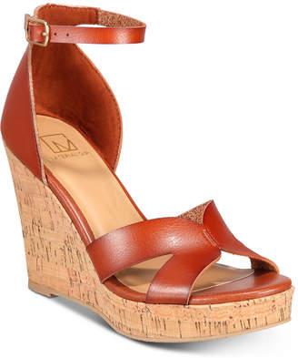 Material Girl Bretta Wedge Sandals, Women Shoes