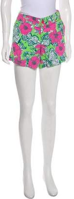 Lilly Pulitzer Printed Mid-Rise Shorts