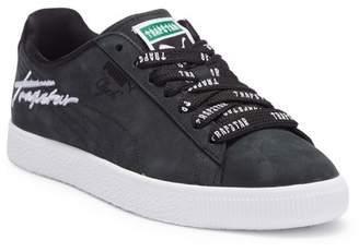 Puma X TRAPSTAR Clyde Leather Bold Sneaker