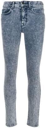 Victoria Beckham stonewashed slim-fit jeans