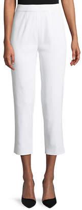 Misook Slim-Leg Knit Ankle Pants