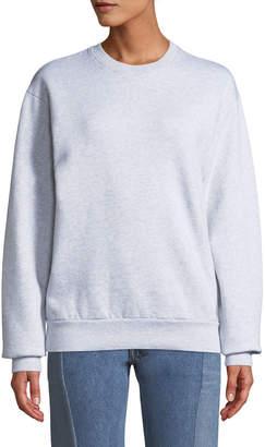 Balenciaga Brushed Felt Logo Crewneck Sweatshirt